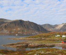 Hytte ved fjorden